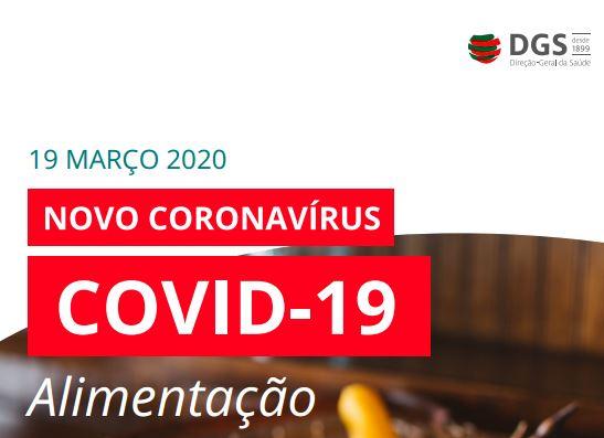 COVID-19-ORIENTAÇÕES NA ÁREA DA ALIMENTAÇÃO